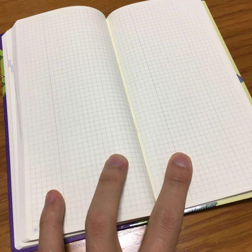 ほぼ日手帳2018 weeks マジカントの地図 メモ欄